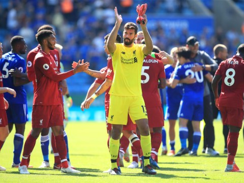 Jurgen Klopp explains why he is 'really happy' Alisson committed howler against Leicester City
