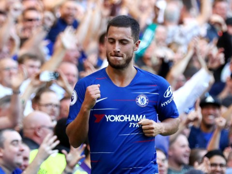 Maurizio Sarri hails Eden Hazard as Chelsea continue their perfect start