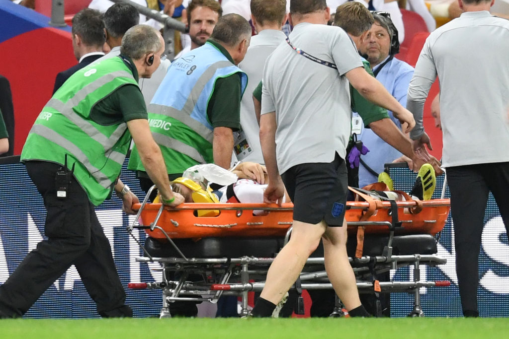 Luke Shaw to undergo further tests after head injury, confirms Gareth Southgate
