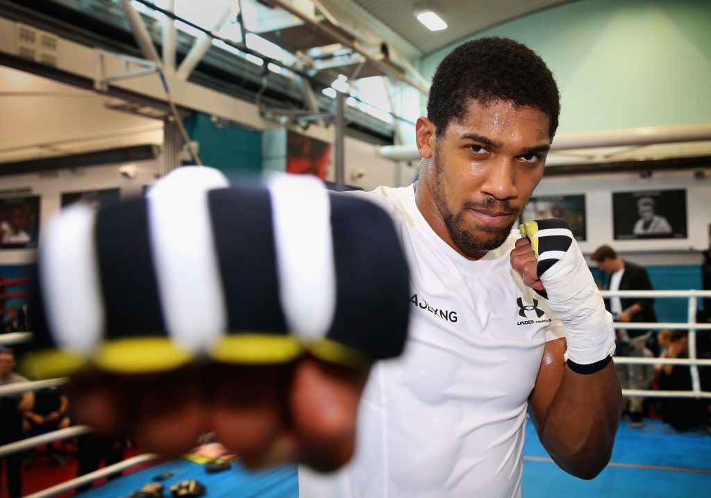 Anthony Joshua vs Alexander Povetkin weigh in, press conference and public workout times