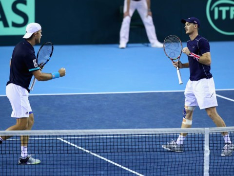 Jamie Murray and Dom Inglot fight back to put Great Britain in charge of Davis Cup tie vs Uzbekistan