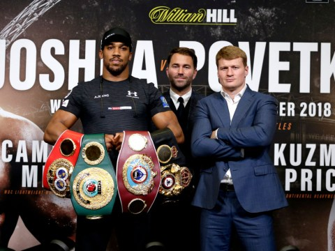 Hughie Fury predicts quick Anthony Joshua knockout against Alexander Povetkin