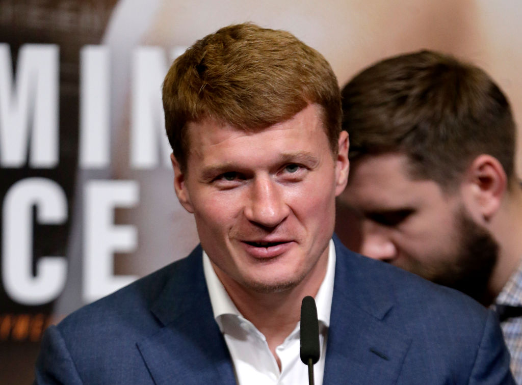 Alexander Povetkin feels no pressure fighting Anthony Joshua at Wembley after Wladimir Klitschko ordeal