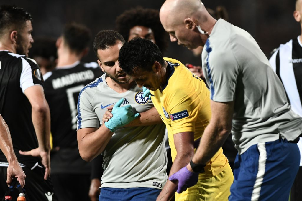 Pedro sends message to Chelsea fans on Instagram after suffering injury v PAOK Salonika