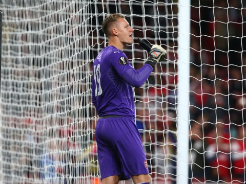 Bernd Leno admits he is frustrated at lack of Arsenal opportunities under Unai Emery
