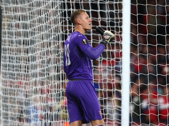 Arsenal News: Berno Leno Admits He Is Already Frustrated