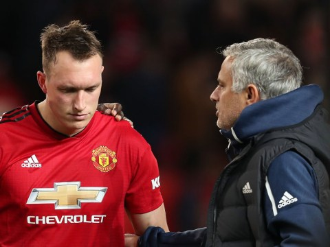 Jose Mourinho knew Manchester United were in trouble when Phil Jones stepped up for penalty
