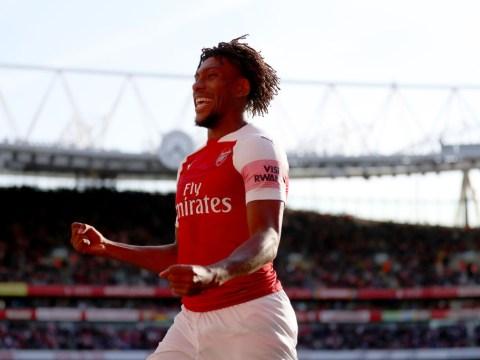 Alex Iwobi reveals how Unai Emery's brutal Arsenal training regime has changed him