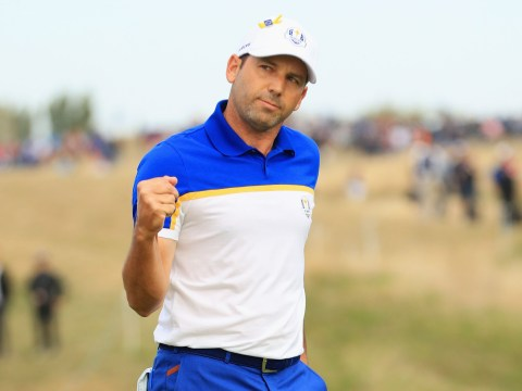 Sergio Garcia reacts to breaking Ryder Cup record after Europe triumph over USA