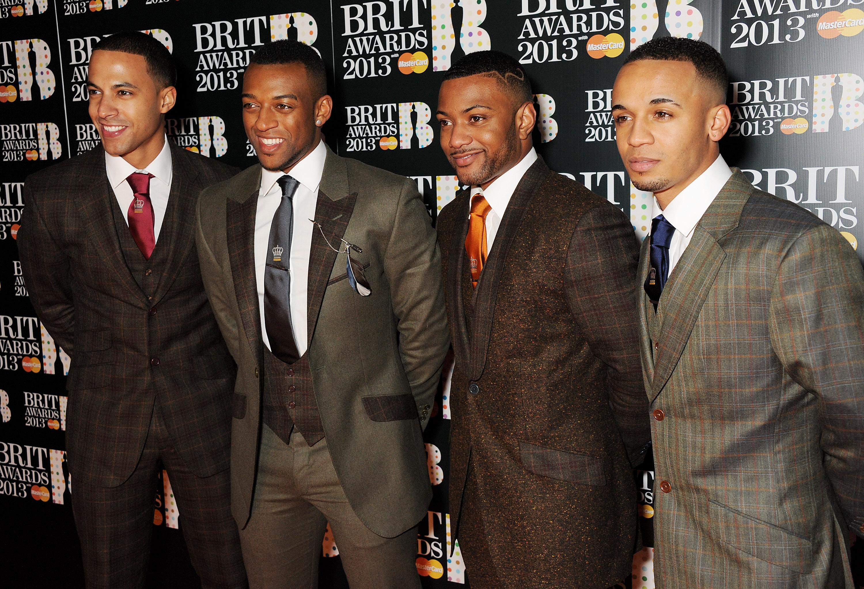 JLS at Brit Awards