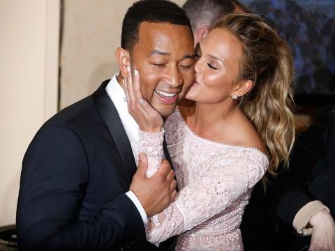 Chrissy Teigen celebrates wedding anniversary by savagely roasting husband John Legend