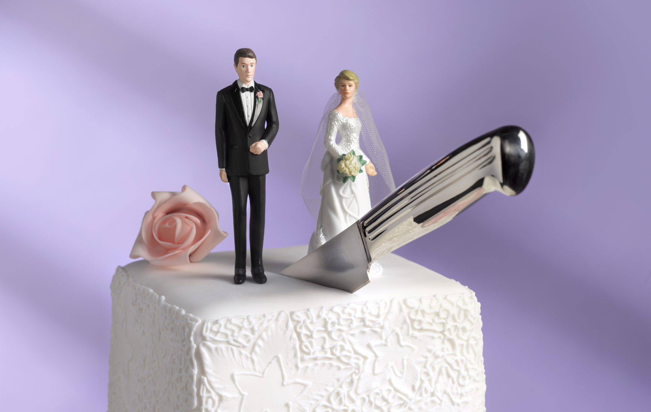 Divorce rates for newlyweds drop by half in the last 25 years, experts say