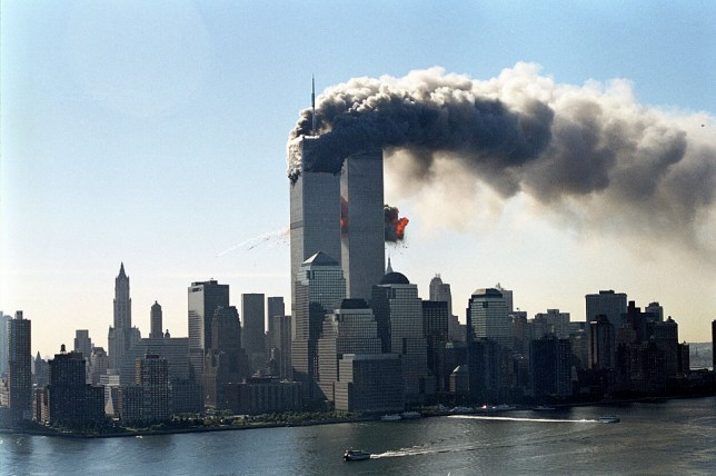 What year was 9/11, what time did planes hit the World Trade