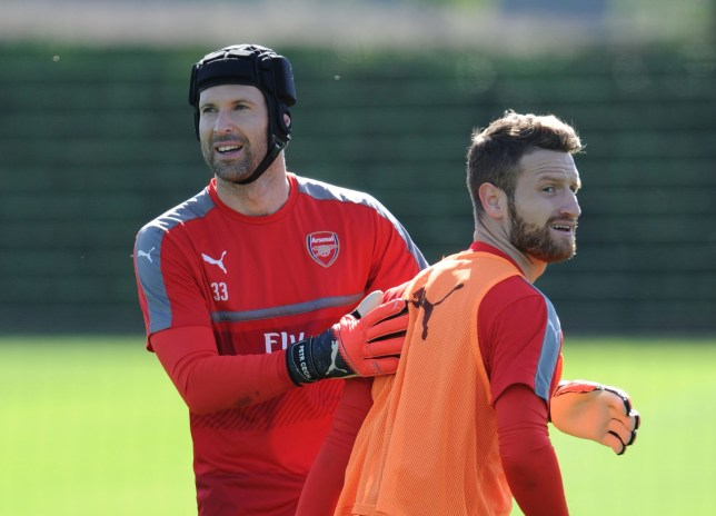 290f2d9d0 Shkodran Mustafi defends Petr Cech following another unconvincing display  at Cardiff