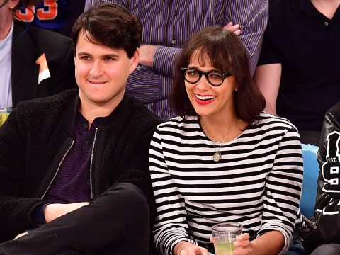 Everyone is shocked Rashida Jones not only 'had a baby' but it's with the guy from Vampire Weekend