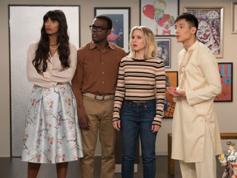 When is The Good Place starting on E4 and will it still be on Netflix UK?