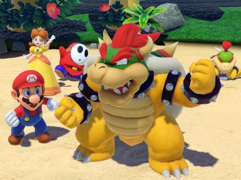 When is the Super Mario Party release date and who are the playable characters?