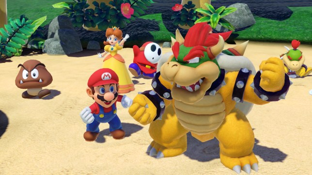 Super Mario Party - one game that encourages cheating
