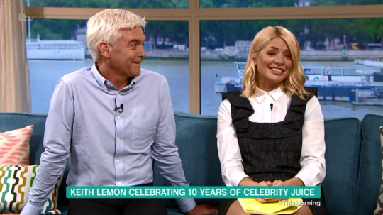 holly willoughby this morning (Picture: ITV)