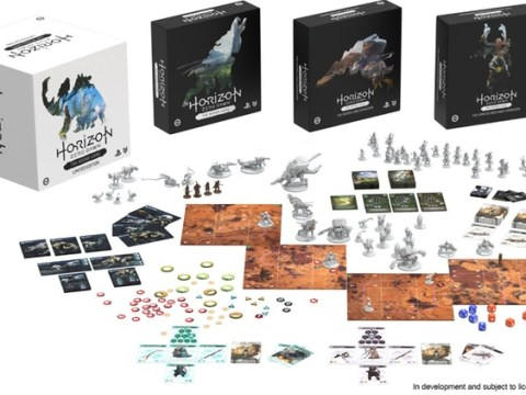 Horizon Zero Dawn board game launches on Kickstarter