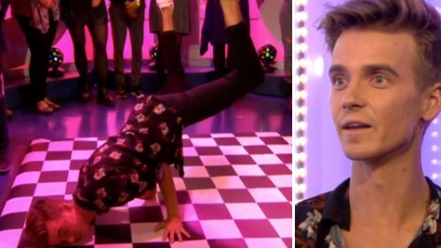 Joe Sugg shows off break-dancing moves as partner Dianne Buswell backs Strictly Come Dancing including streetdance