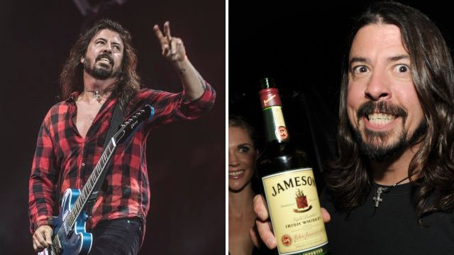 Dave Grohl shares his rather extensive pre-show drinking ritual