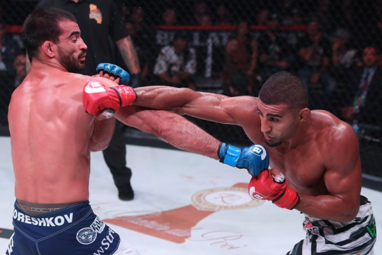 Douglas Lima is a former Bellator champion and favourite against MVP (Picture: Bellator)