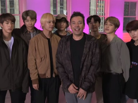 BTS ace the Fortnite dance challenge with Jimmy Fallon