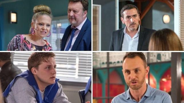 Soap spoilers for Linda EastEnders, Peter Coronation Street, Lachlan Emmerdale, James Hollyoaks