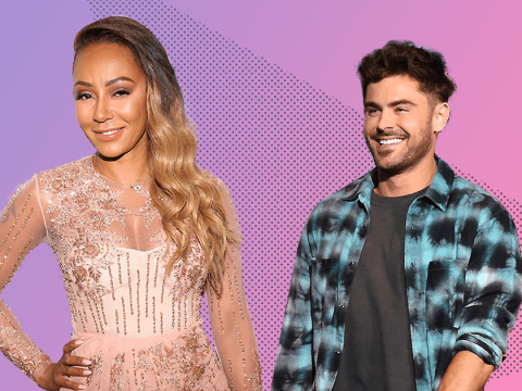 Mel B and Zac Efron 'enjoyed a night of passion together after flirting on a dating app'