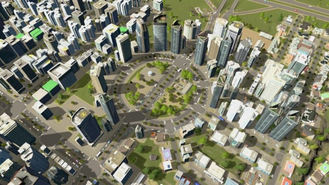 Cities: Skylines - Nintendo Switch Edition (NS) - big city, small console