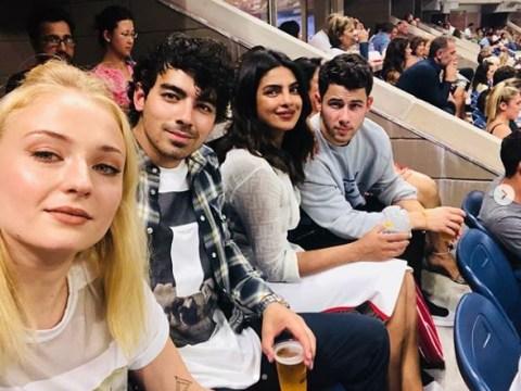 Priyanka Chopra and Nick Jonas enjoy cute double date at US Open with Joe Jonas and Sophie Turner