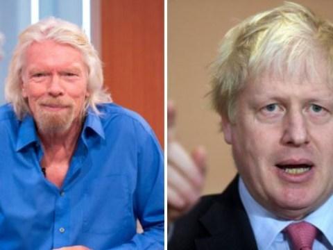 Richard Branson hits out at Boris Johnson as he backs second referendum