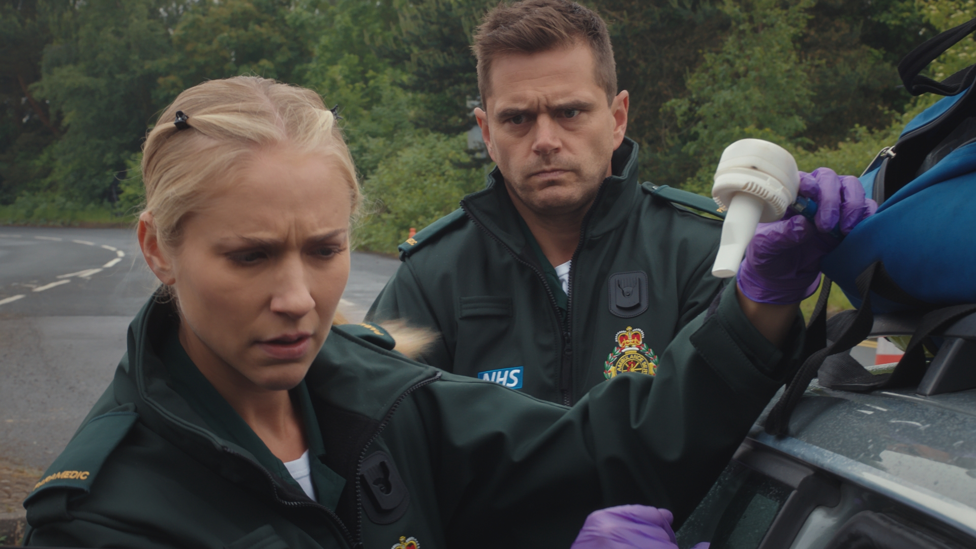 Casualty review with spoilers: Ruby regains Iain's trust