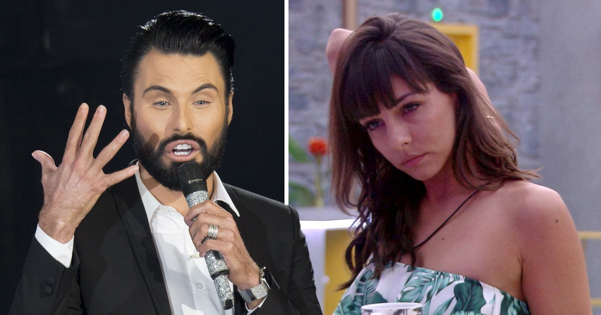 Rylan Clark-Neal admits it's hard not to voice his own thoughts on Celebrity Big Brother's Roxanne Pallett debate