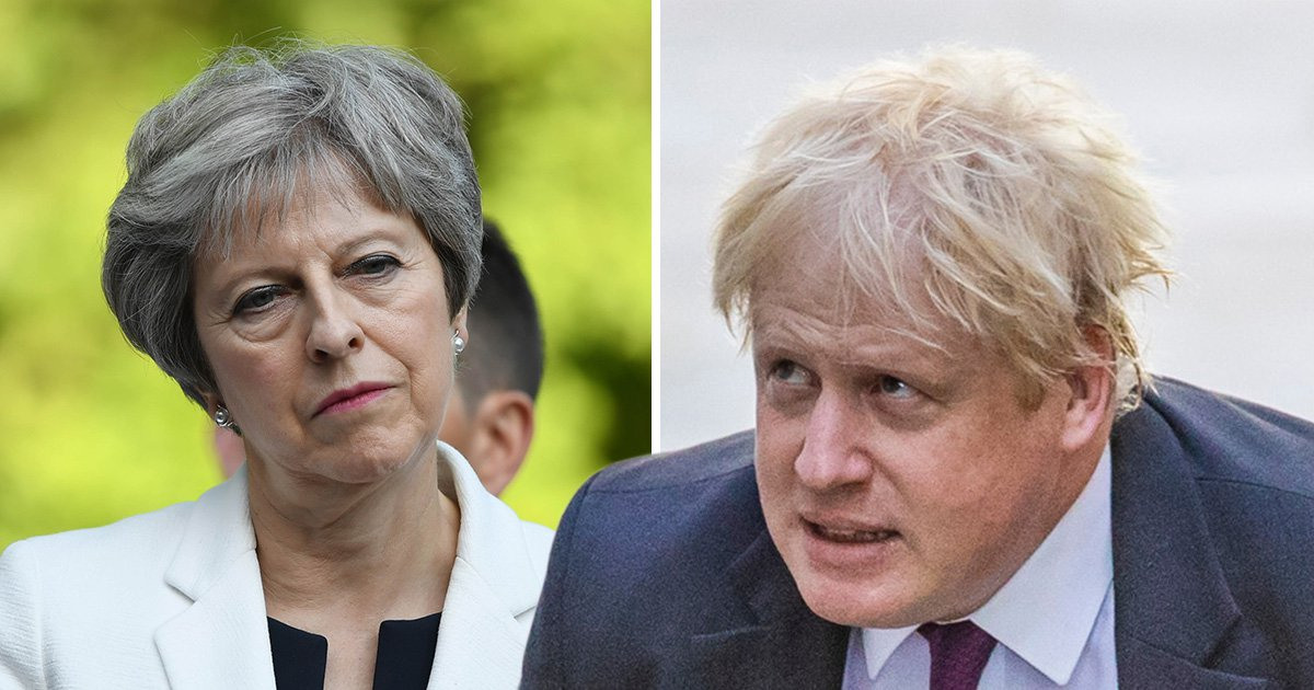 Boris Johnson lays into Theresa May's Brexit plan saying it is a victory for EU