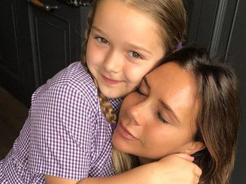Victoria Beckham reveals Harper learned to run in heels aged three – but only wears them in the house