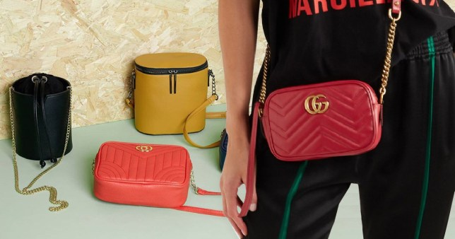 244007f0f1a3 Primark releases Gucci shoulder bag 'dupe' for £750 less than the ...