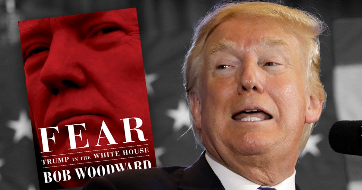 When Bob Woodward's book Fear: Trump in the White House is out and where to buy it