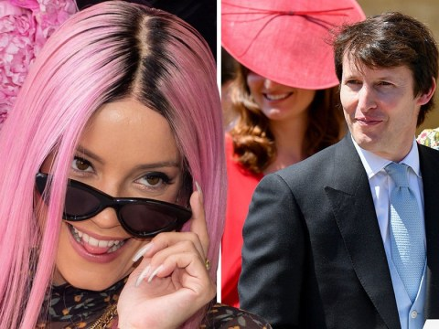 Lily Allen once walked in on James Blunt having sex