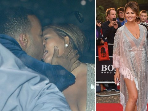 Chrissy Teigen and John Legend prove the spark is still alive after 11 years together with backseat PDA