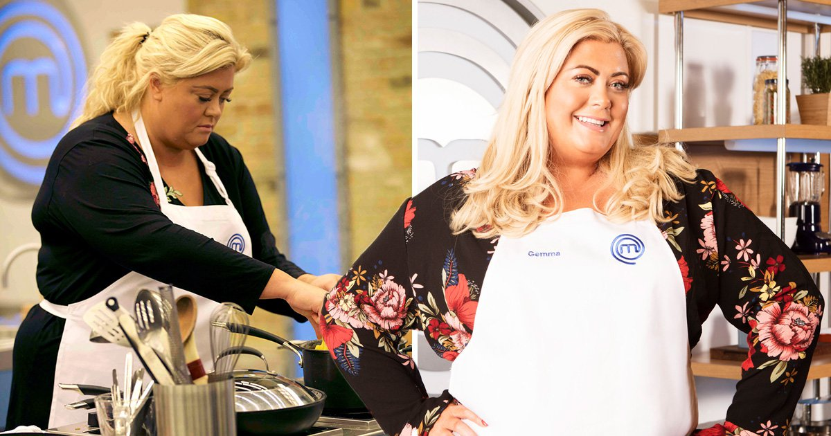 Gemma Collins receives grilling from Celebrity Masterchef's Gregg Wallace and John Torode: 'It's a cocktail gone wrong'