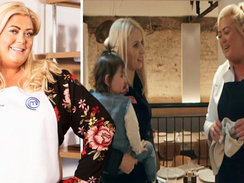 Celebrity Masterchef in chaos as Gemma Collins leaves busy kitchen to chat to diners