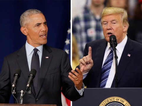 Barack Obama breaks with Washington tradition to launch stinging attack on Donald Trump