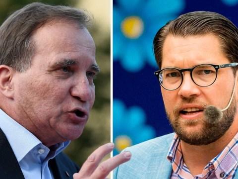 Swedish PM calls far-right rivals 'racist' ahead of general election