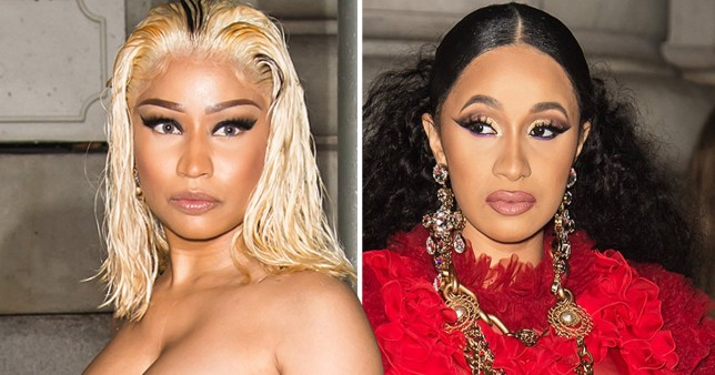 New footage emerges of Cardi B and Nicki Minaj 'fight' – and it's not pretty