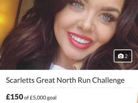Scarlett Moffatt pulls out of Great North Run after raising only £150 of £5,000 goal