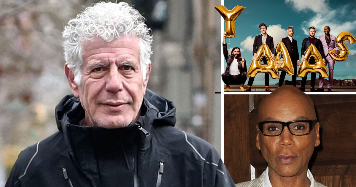 Creative Arts Emmys 2018: Anthony Bourdain honoured posthumously while RuPaul's Drag Race and Queer Eye walk away with big wins