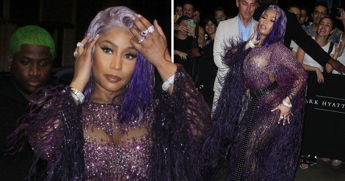 Nicki Minaj courts even more drama at NYFW event after ruckus with Cardi B