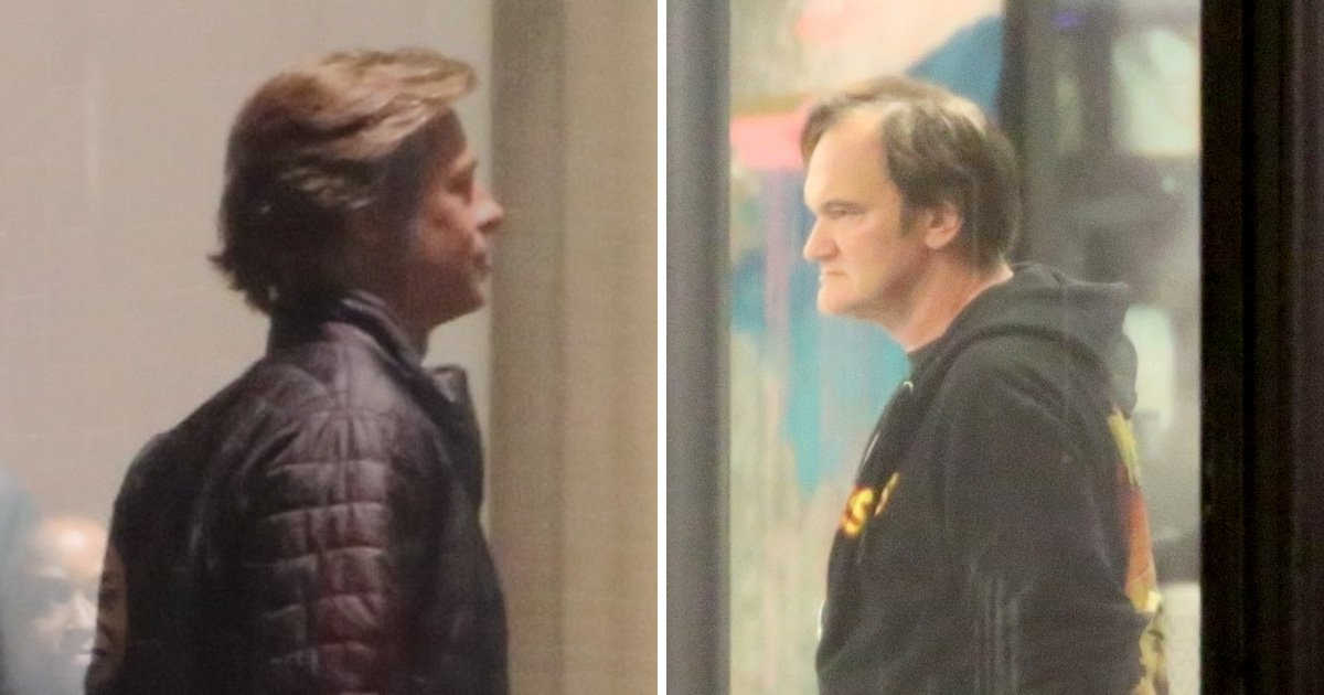Brad Pitt and Quentin Tarantino film Once Upon A Time In Hollywood after star Burt Reynolds dies